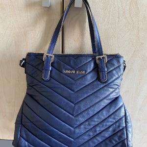 Μπλε τσάντα Αρμανι