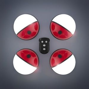 Φορητοί Προβολείς LED με Χειριστήριο Pockelamp (πακέτο με 4)
