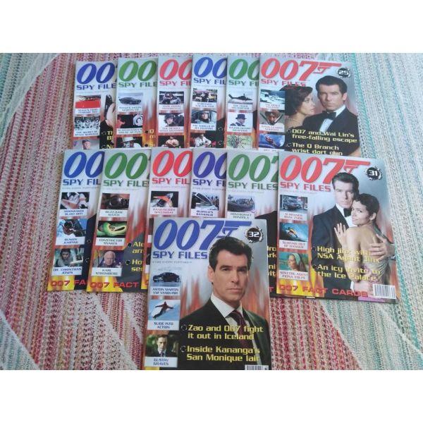 James Bond 007 Spy Files Magazine (Set of 32 tefchi)