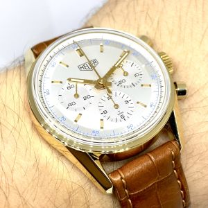 Tag HEUER carrera chronograph Re-Edition 1964 gold18k