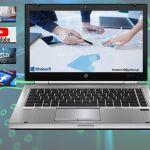 HP Elitebook 8470p i5-3230M / 8 GB RAM / HD SSD 128 / CAMERA / Οθόνη 14.1