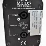 Επαγγελματικά Ηχεία Metro SubWoofer 18'' 1600Watts
