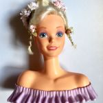 Barbie κεφάλι ομορφιάς 1990's