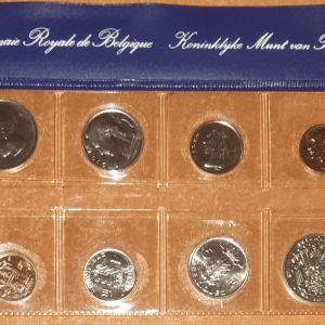 Ακυκλοφόρητη σειρά νομισμάτων Βελγίου 1979