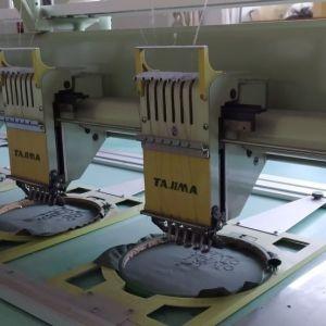 Κεντητικη μηχανη  Tajima 12 κεφαλες 6 χρωματα