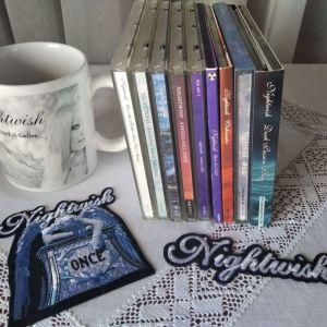 CD Nightwish - 9 albums & accessories