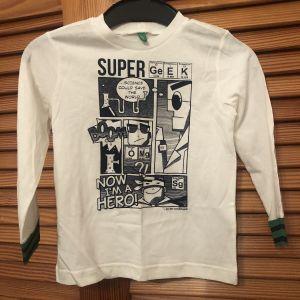Μακρυμάνικο T-shirt Mexx Λευκό
