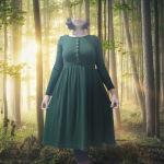 Φθινοπωρινό Φόρεμα #dress #autumn #fairycore #φόρεμα