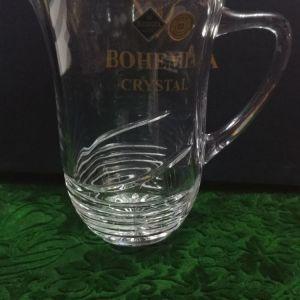 Κανάτα νερού/ κρασιού, κρύσταλλο Bohemia Jihlava company Czech Republic