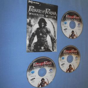 PRINCE OF PERSIA WARRIOR WITHIN 3 CD - PC GAME