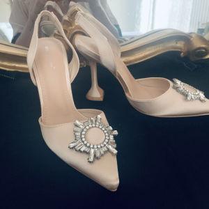 amina Muaddi style heels no 40 καινουρια