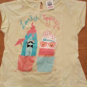 Zara baby μπλουζακι για 18-24μηνων