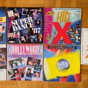 The GREATEST HITS. 8 LPs τα περισσότερα είναι διπλά - Μεταχειρισμένα σε πολύ καλή κατάσταση. ΣΕΤ 2