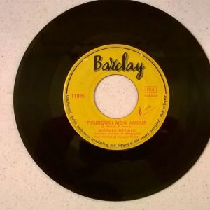 Vinyl record 45 - Mireille Mathieu