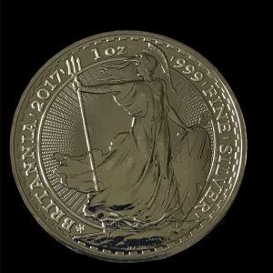 Britannia  1 oz silver  2017