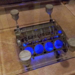 coffee tables engine / μηχανές αυτοκινήτων τραπεζάκια
