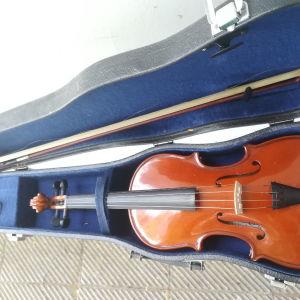βιολί με θήκη