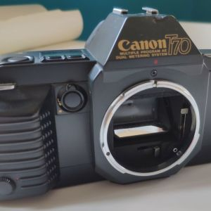 CANON T70 με δύο φακούς