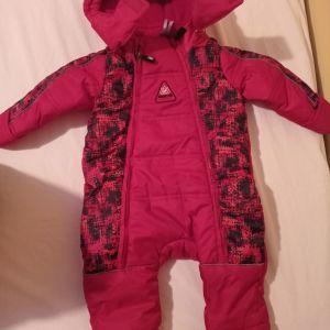 Ολόσωμη φόρμα μπουφάν για 3-6 μηνων