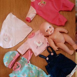 Κούκλα κ ρούχα