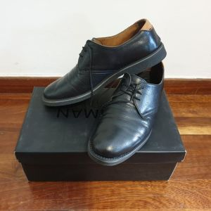 Μαύρα Δερμάτινα Παπούτσια Νο 44