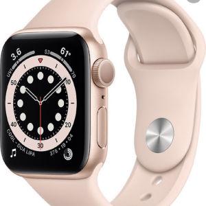iwatch 6 44mm rose gold (φορεμένο 1 φορά) ΚΑΙΝΟΥΡΓΙΟ!!!