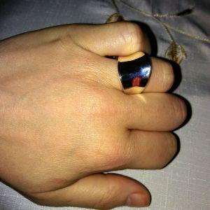 Δαχτυλιδι ατσαλινο