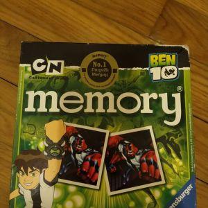 Παιχνίδι μνήμης memory Ben 10