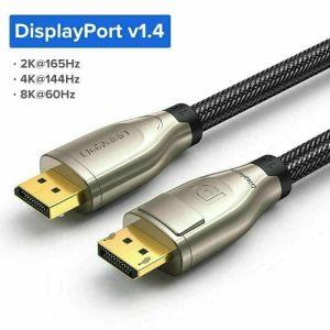 Ugreen 8K DisplayPort 1.4 Cable  Δυο (2) μέτρα καινούργιο αμεταχείριστο 20€