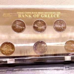 ΣΕΙΡΑ  6Χ500 Δραχμές Σετ για το 2004 σε Plexiglass Athens Olympic games