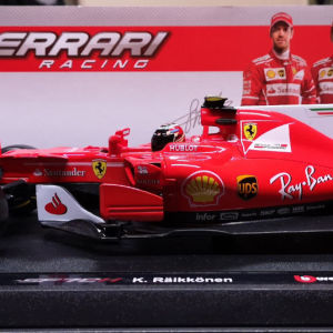 BBurago Ferrari SF70H Kimi Raikkonen 1:18 (New)