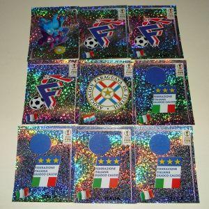 Αυτοκόλλητα χαρτάκια Panini (World Cup 2002)