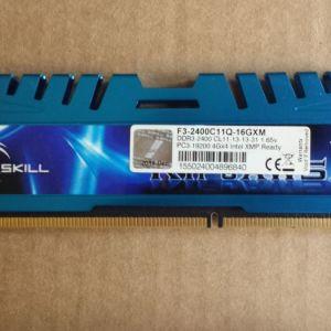 RAM G.SKILL F3-2400C11Q-16GXM 16GB (4X4GB) DDR3 2400MHZ CL11 RIPJAWSX QUAD CHANNEL KIT