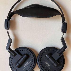 AKAI Pro ASE-55 Stereo Headphones VINTAGE (1981-83) - Made in JAPAN. Σε άριστη κατάσταση