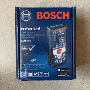 Bosch Μέτρο Laser GLM 50 C με Δυνατότητα Μέτρησης έως 50m