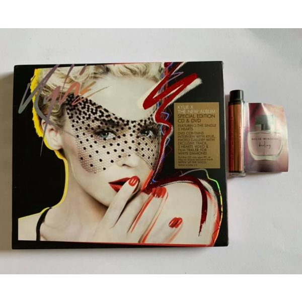 KYLIE MINOGUE - Kylie - X Special Edition CD and DVD with perfume sample