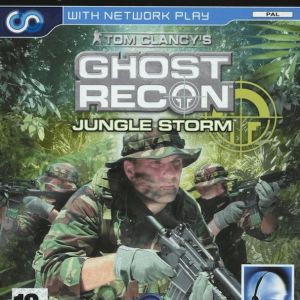 PS2 Game -GHOST RECON JUNGLE STORM