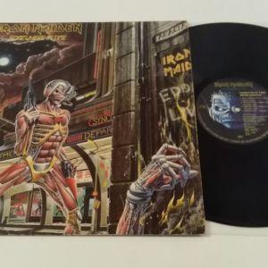 Iron Maiden Somewhere In Time LP