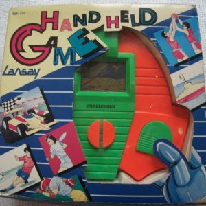 LANSAY GAME  CHALLENGER HAND HELD ΔΕΚΑΕΤΙΑΣ 1980-1990