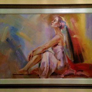 ελαιγραφια Ελληνα ζωγραφου