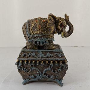Κουτί - ελεφαντακι διακοσμητικό εποχής 2000