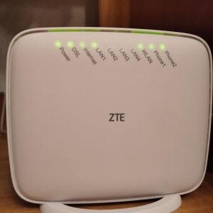 ρούτερ zte 267N modem router vdsl - adsl