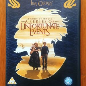 Lemony Snicket's A series of unfortunate events 2 disc dvd