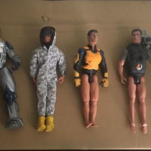 Action Man (6 figures pack)