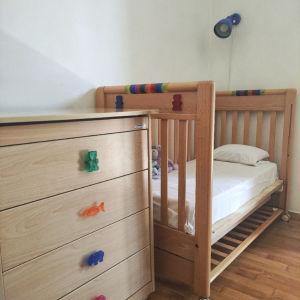 Ιταλικό σετ παιδικού δωματίου Κούνια + Αλλαξιέρα Foppapedretti