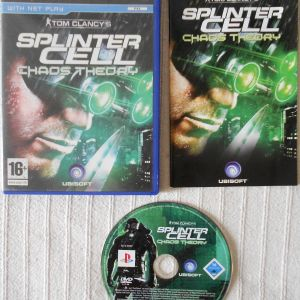 Splinter Cell Collection Ps2