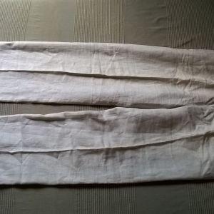 Παντελόνι αντρικό λινό Zara