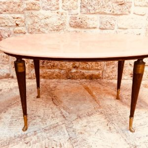 Μαρμαρινο Τραπεζάκι εποχής / Αντικα / vintage / coffee table / βινταζ / retro / σαλονι / Καθιστικό / Τραπεζαρία