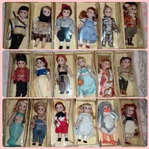 """Κούκλες """"Μια φορά κι έναν καιρό"""" της De Agostoni"""