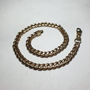 Χρυσό βραχιόλι 14Κ, 8.85γρ., μήκος 20.5εκ., πάχος 4.1χιλ.